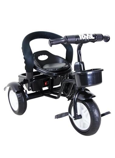 Rival Rv503 Volt 3 Tekerli Çocuk Bisikleti Eva Dolgu, Patlamaz Ses Yapmaz Siyah